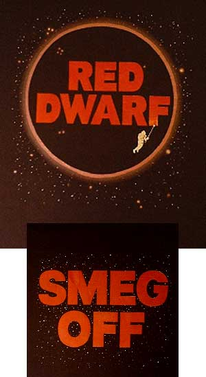 Red Dwarf Smeg Shirt