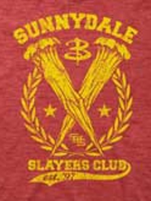 Sunnydale Slayer's Club T-shirt