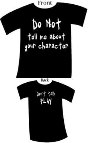 Do not tell me about your Character BabyDoll Shirt