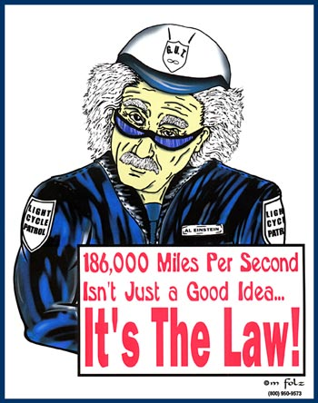 Einstein Speed Cop