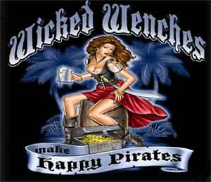 Wicked Wenches Pirate Shirt