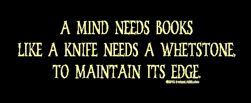 A Mind Needs Books T-Shirt
